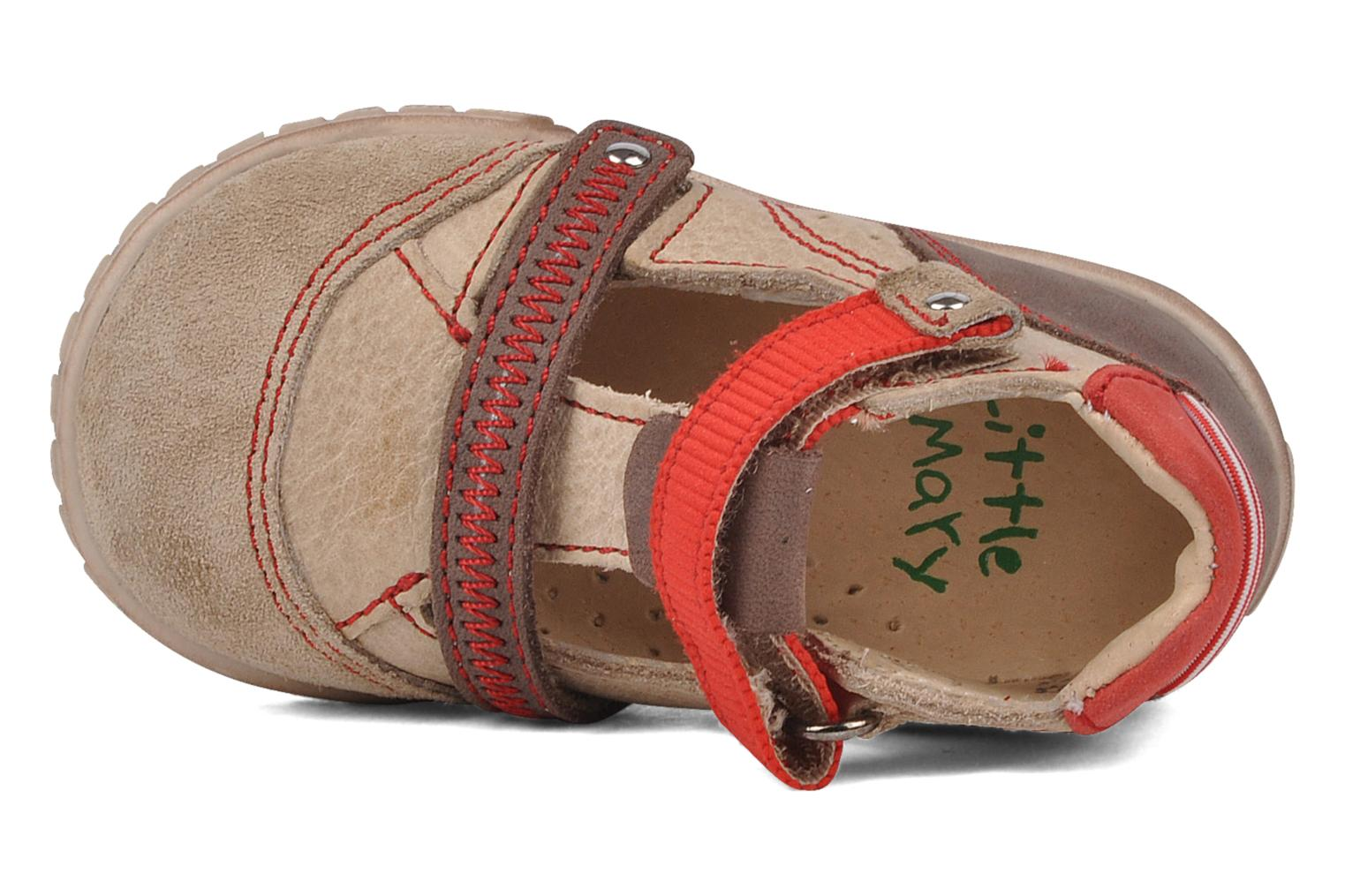 Summer boots Little Mary Hindou Beige view from the left