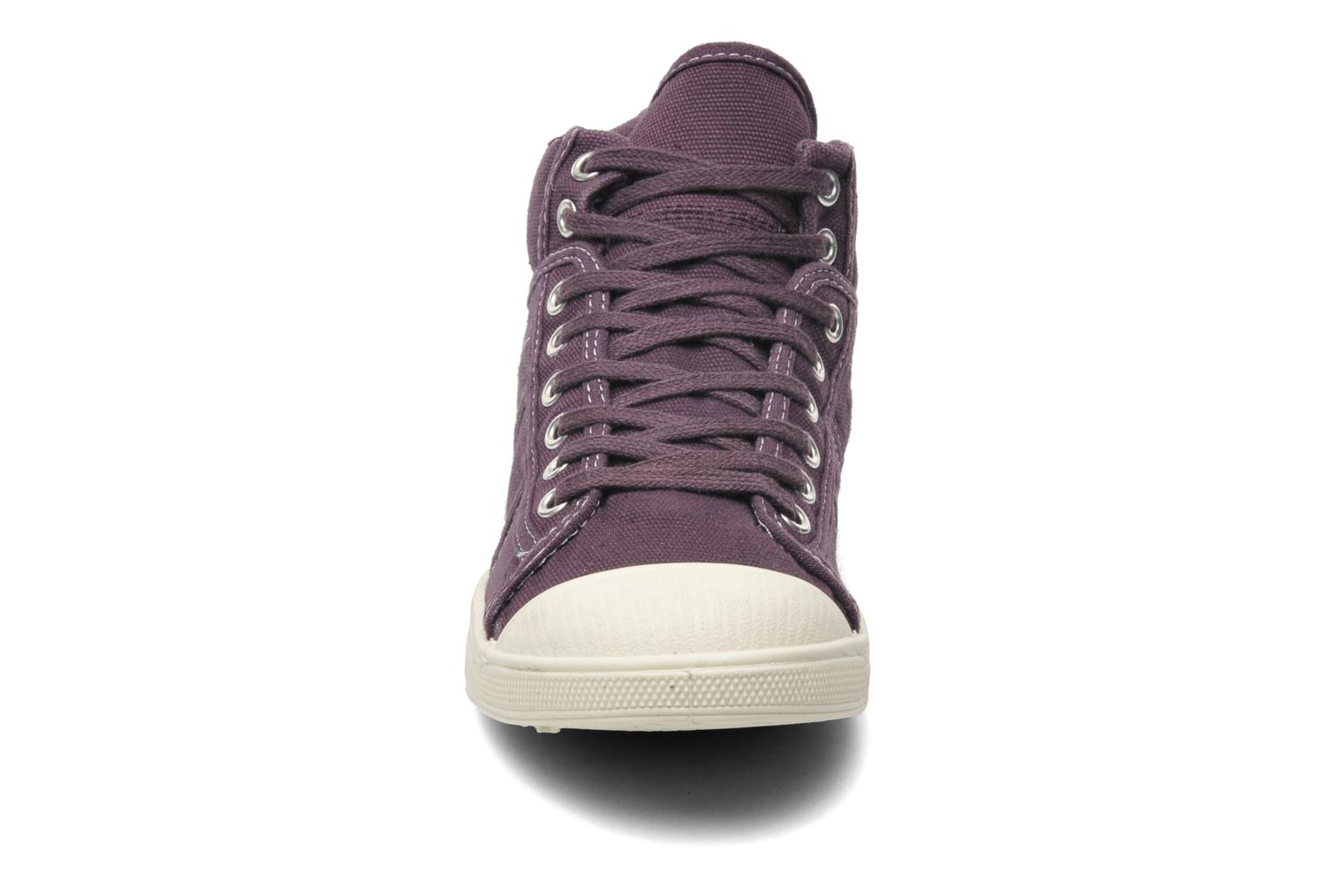 Sneakers Le temps des cerises Basic 03 Paars model