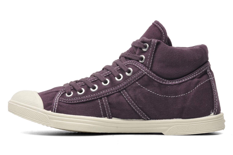Sneaker Le temps des cerises Basic 03 lila ansicht von vorne
