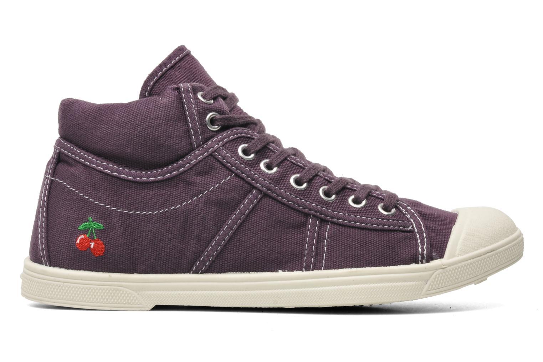 Sneaker Le temps des cerises Basic 03 lila ansicht von hinten
