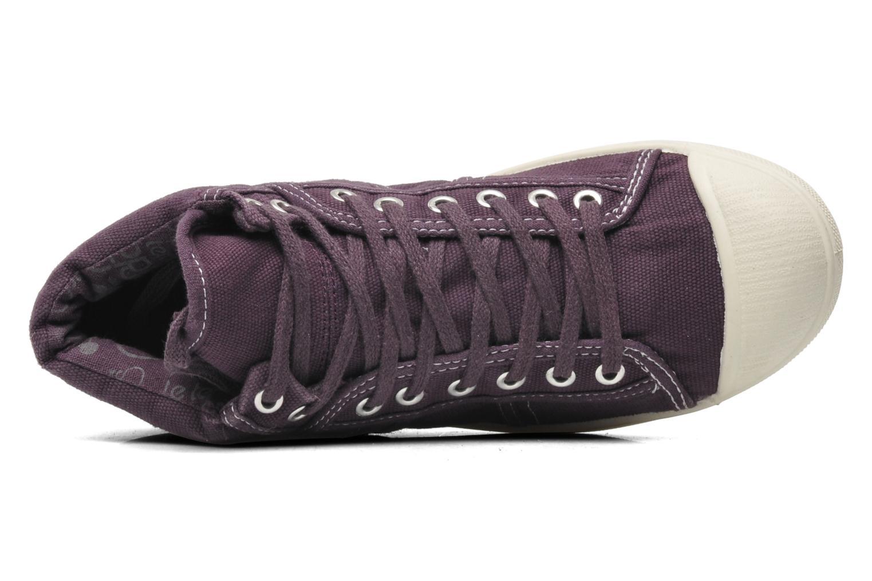 Sneaker Le temps des cerises Basic 03 lila ansicht von links