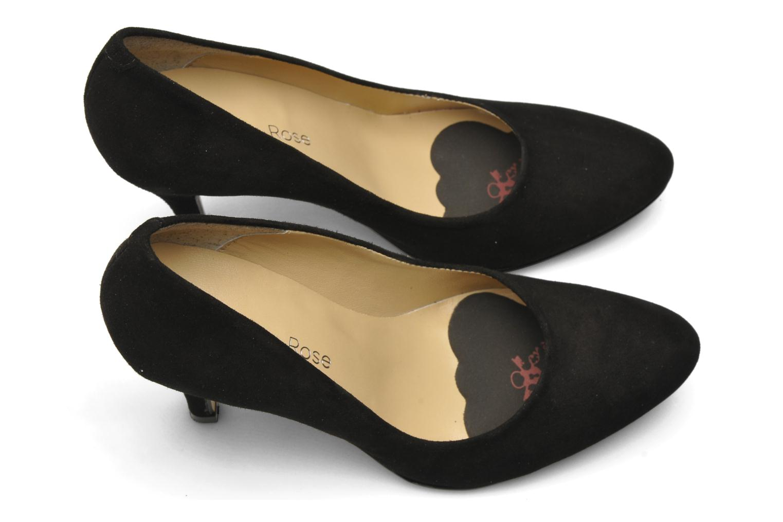 Insoles Lady's Secret No scratch! Non-slip Foot Pillows Black view from the left