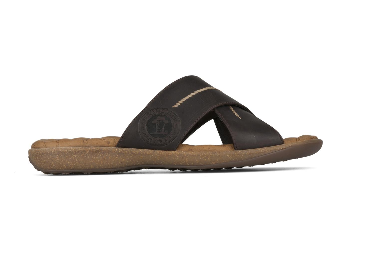 Sandals Panama Jack Kareb Brown back view