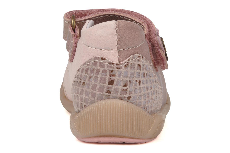 Ballerina's Babybotte Saga Roze rechts