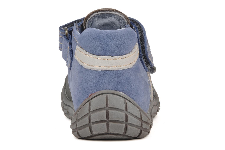 Bottines et boots Babybotte Snoupi Bleu vue droite