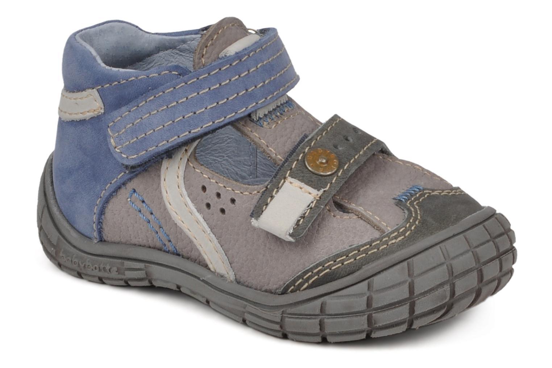 Bottines et boots Babybotte Snoupi Bleu vue détail/paire