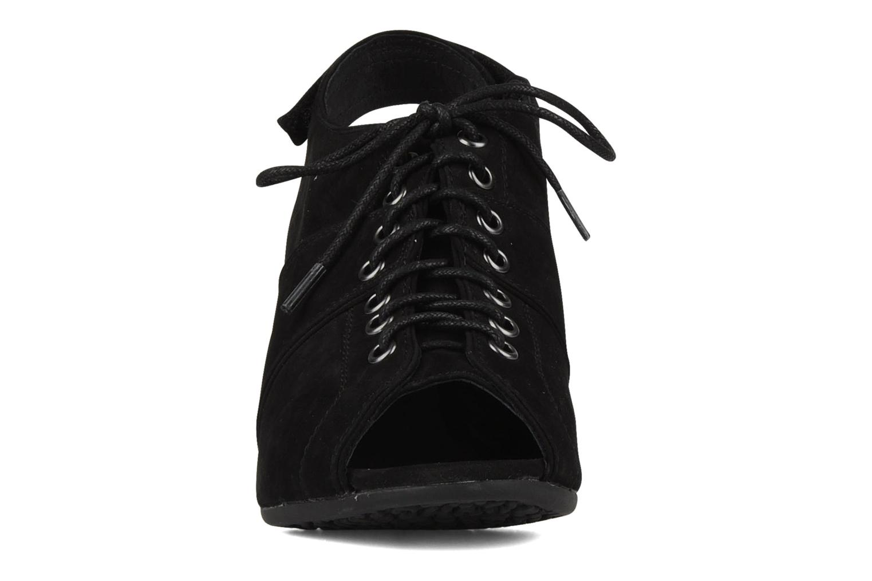 Sandalen No Name Diva open toe schwarz schuhe getragen