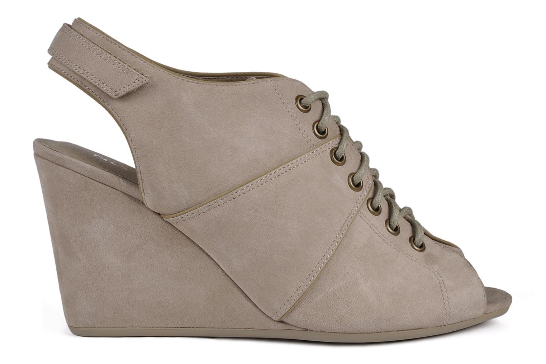 Sandalen No Name Diva open toe grau ansicht von hinten