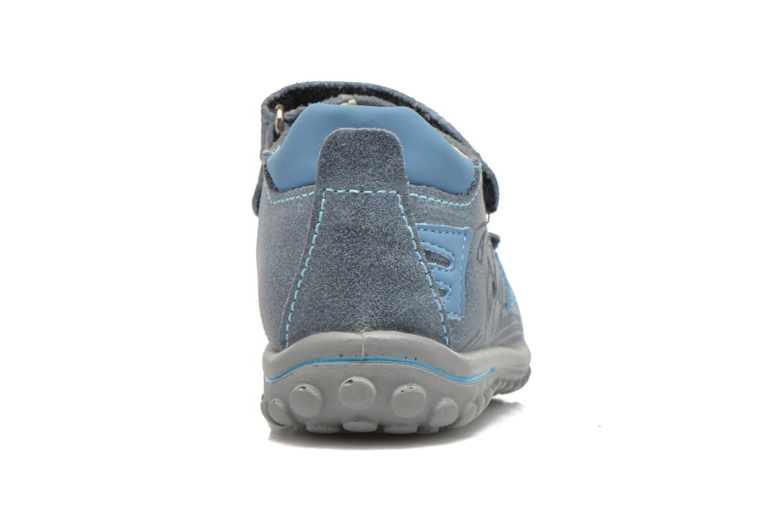 Sandales et nu-pieds Primigi Paolo Bleu vue droite