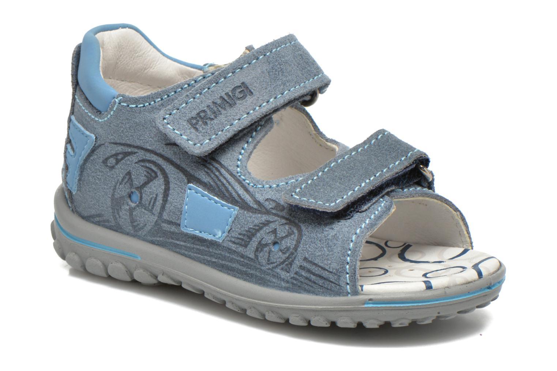 Sandales et nu-pieds Primigi Paolo Bleu vue détail/paire