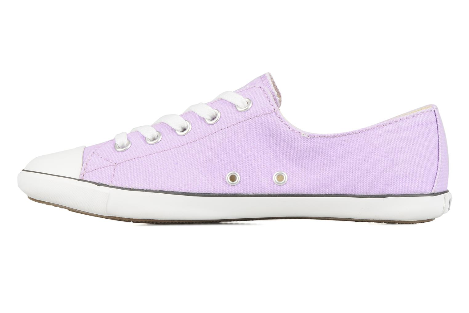 Baskets Converse All Star Light Canvas Ox W Violet vue face