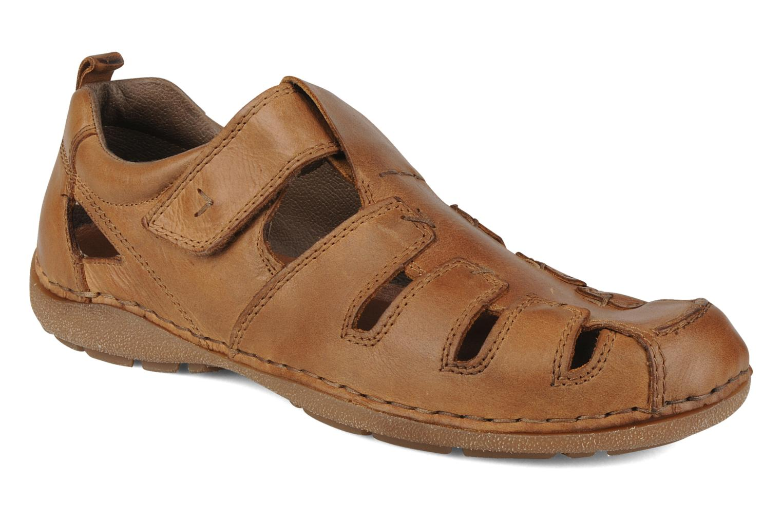 Sandals Rieker Ansgar 05576 Brown detailed view/ Pair view