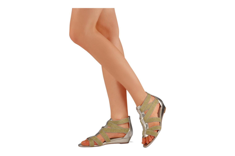 Sandales et nu-pieds Kelsi Dagger Dylana Or et bronze vue bas / vue portée sac