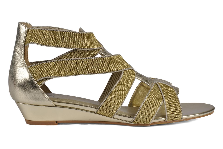 Sandales et nu-pieds Kelsi Dagger Dylana Or et bronze vue derrière