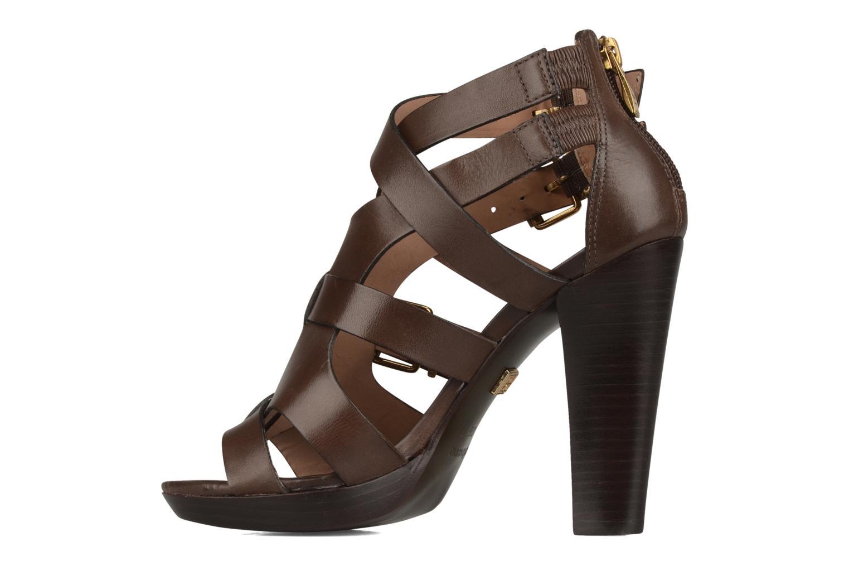 Sandales et nu-pieds Pour La Victoire Vanna Marron vue face