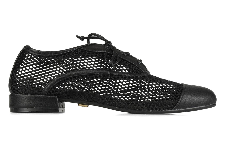 Chaussures à lacets Pour La Victoire Morina Noir vue derrière