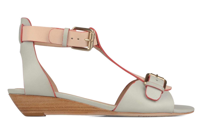 Sandalen Pour La Victoire Mali weiß ansicht von hinten
