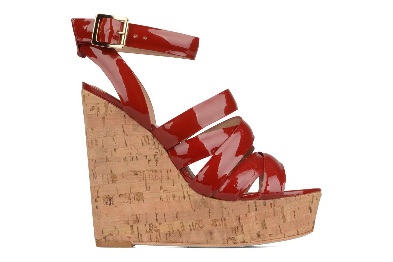 Sandales et nu-pieds Pour La Victoire Jessie Rouge vue derrière