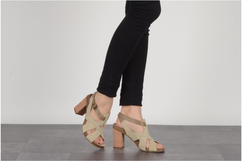 Sandales et nu-pieds See by Chloé Oleggio Beige vue bas / vue portée sac