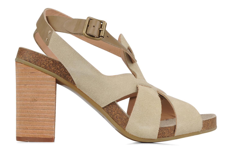 Sandales et nu-pieds See by Chloé Oleggio Beige vue derrière