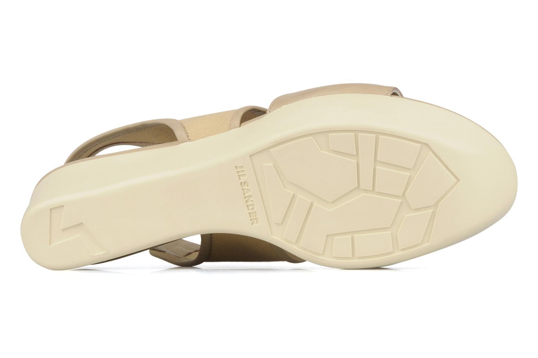 Sandales et nu-pieds Jil Sander Navy Hop Marron vue haut