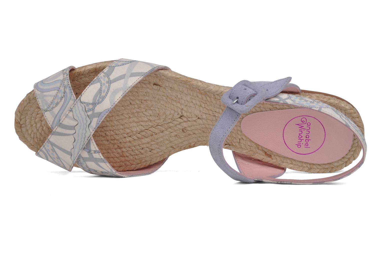 Sandales et nu-pieds Annabel Winship Hopper Gris vue gauche