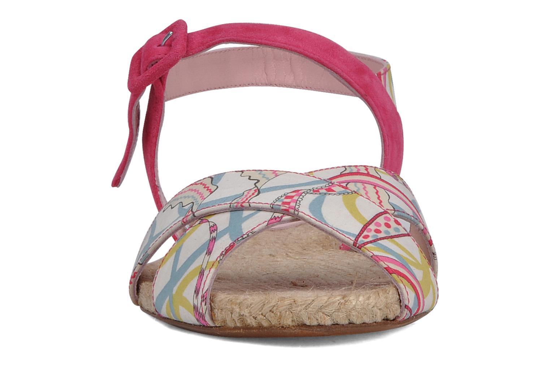 Sandales et nu-pieds Annabel Winship Hopper Rouge vue portées chaussures