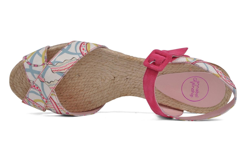 Sandales et nu-pieds Annabel Winship Hopper Rouge vue gauche