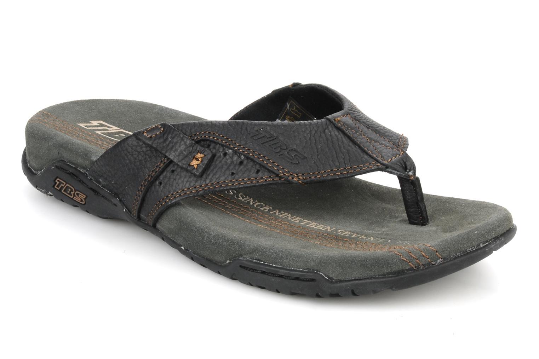 Slippers TBS Unites Zwart detail