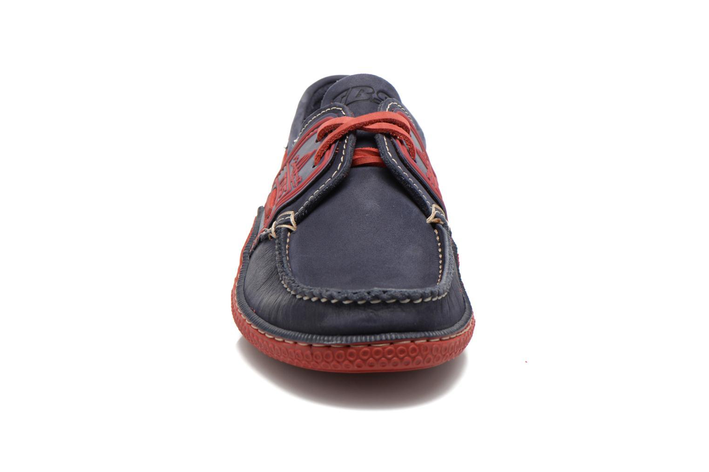 Chaussures à lacets TBS Globek Bleu vue portées chaussures