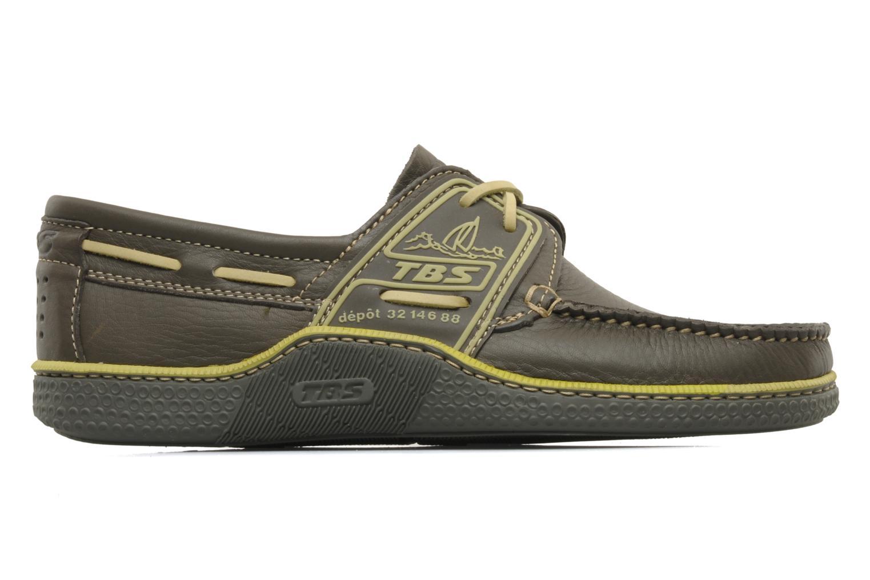 Zapatos con cordones TBS Globek Verde vistra trasera