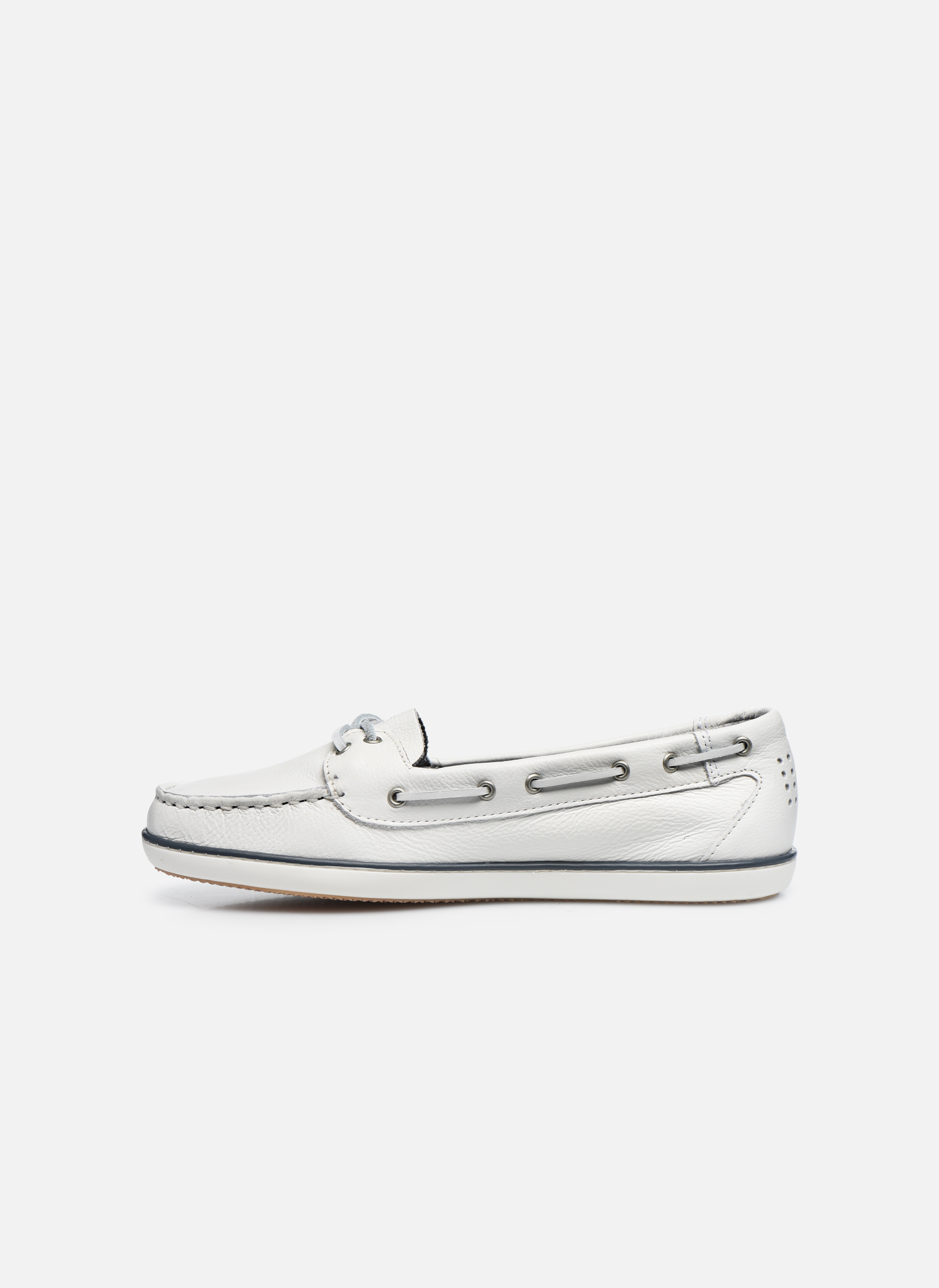 Lace-up shoes TBS Clamer White front view