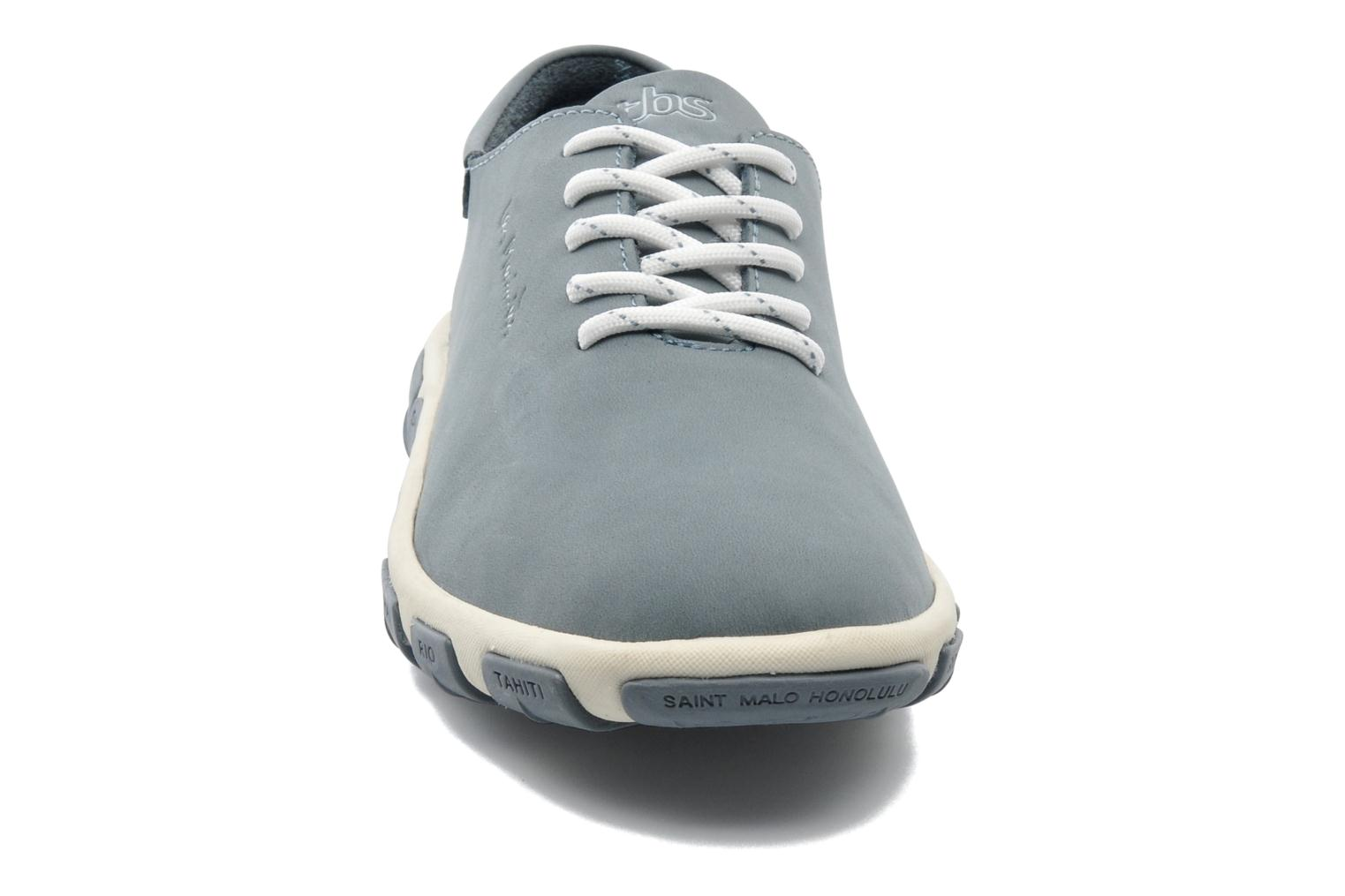 Lace-up shoes TBS Jazaru Grey model view