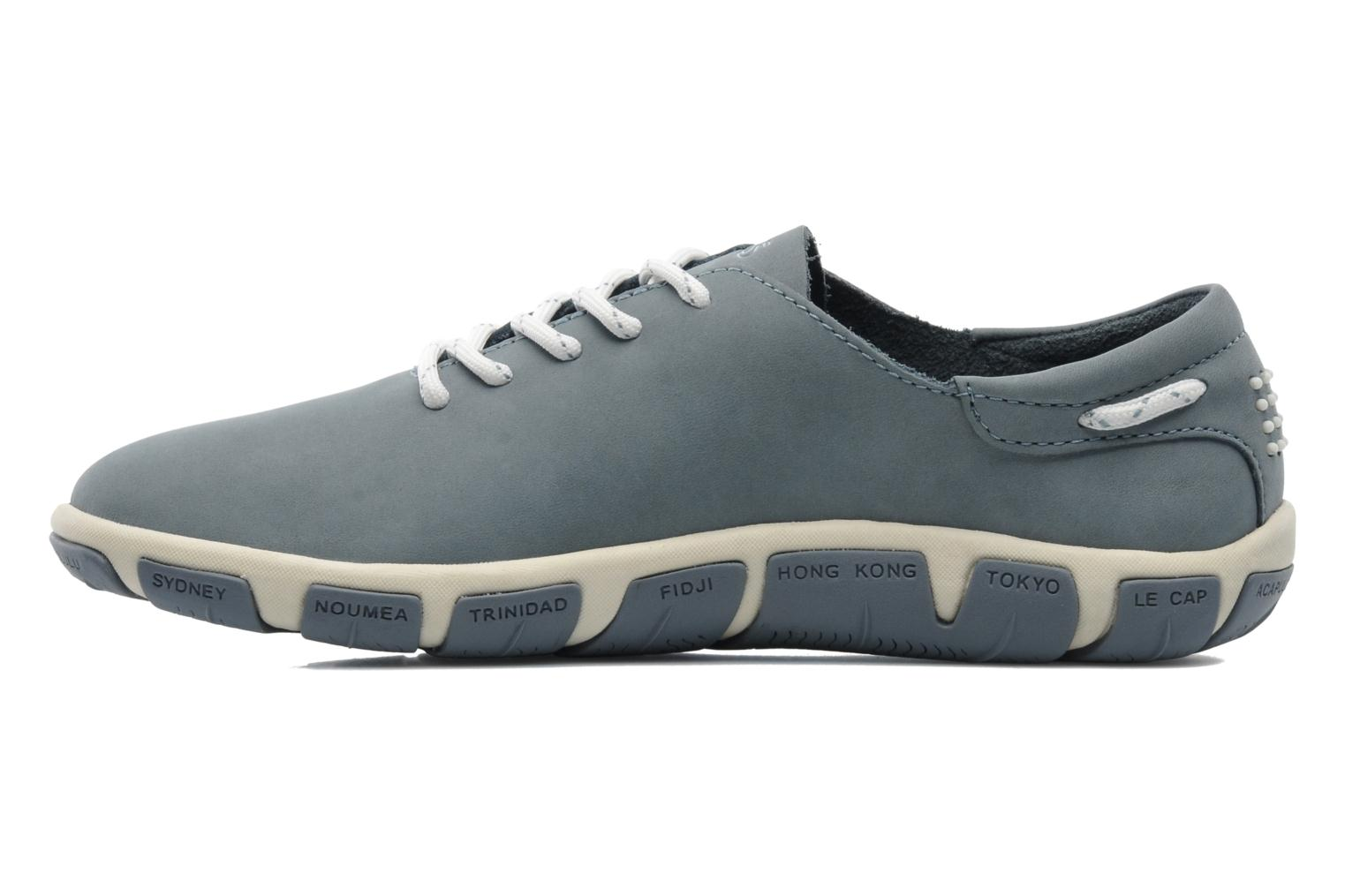 Lace-up shoes TBS Jazaru Grey front view