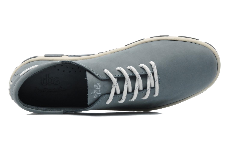 Zapatos con cordones TBS Jazaru Gris vista lateral izquierda