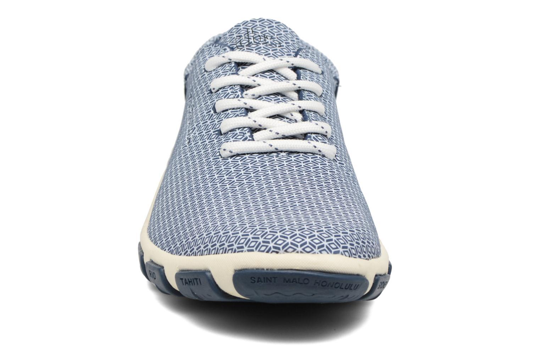 Snörade skor TBS Jazaru Blå bild av skorna på