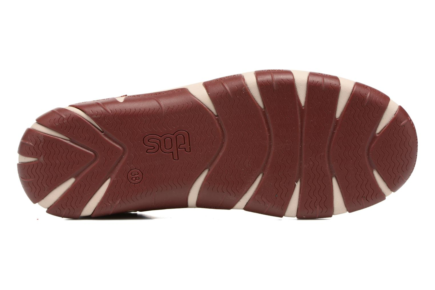 Lace-up shoes TBS Jazaru Burgundy view from above