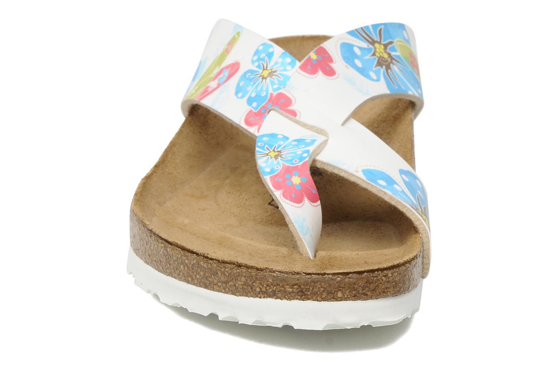 Tongs Birki's Cancun Flor W Multicolore vue portées chaussures