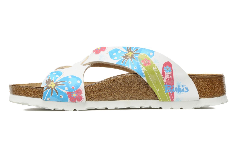 Slippers Birki's Cancun Flor W Multicolor voorkant