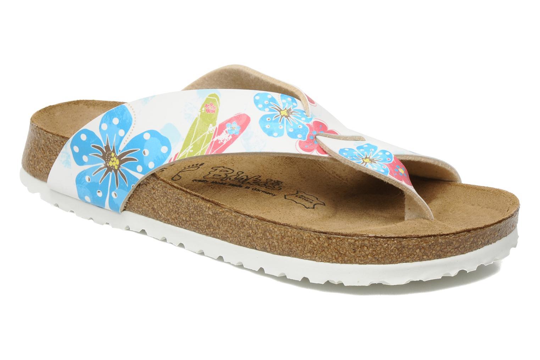 Tongs Birki's Cancun Flor W Multicolore vue détail/paire