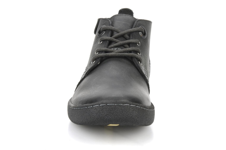 Chaussures à lacets Kickers Indiana Noir vue portées chaussures