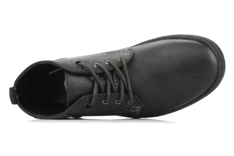 Chaussures à lacets Kickers Indiana Noir vue gauche