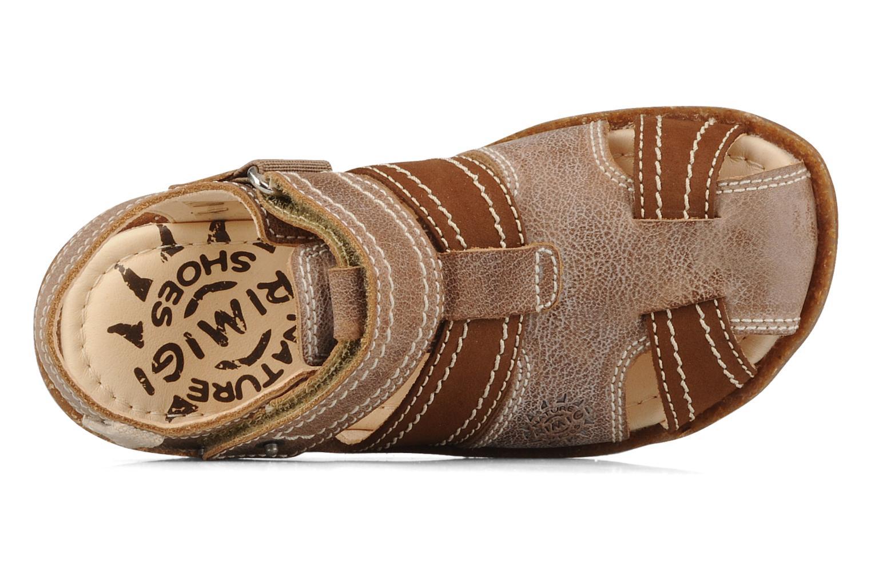 Sandali e scarpe aperte Primigi Torquato Marrone immagine sinistra