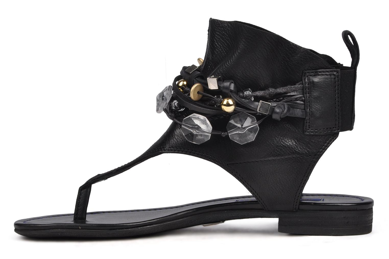 Sandals Janet & Janet Follini Black front view