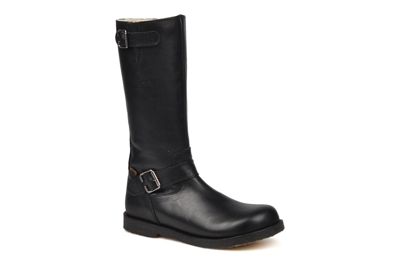 Boots & wellies Bisgaard 80572 Black detailed view/ Pair view