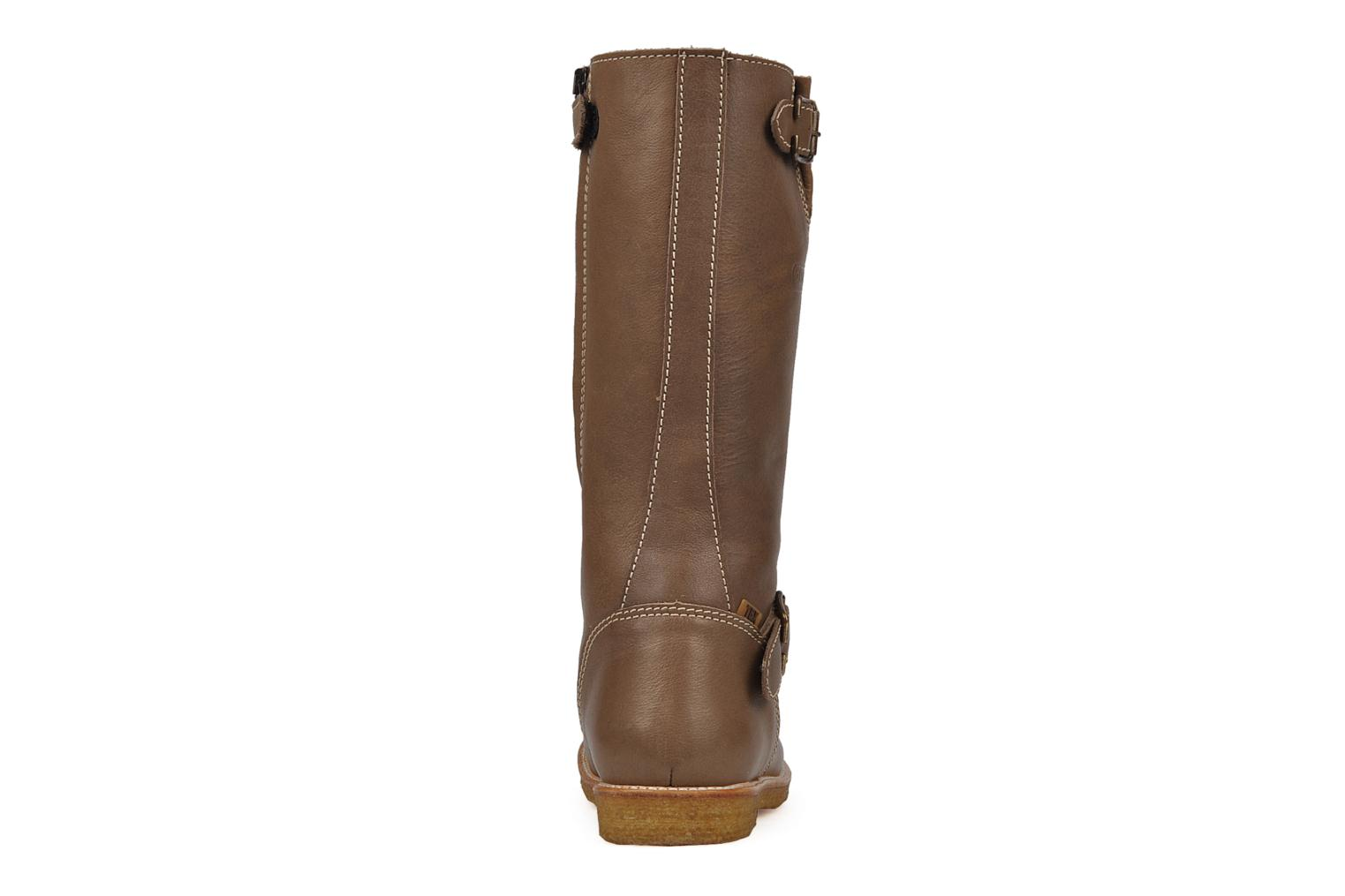 Boots & wellies Bisgaard 80572 Brown view from the right