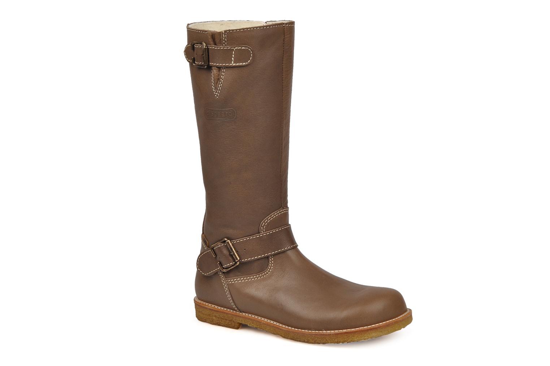 Boots & wellies Bisgaard 80572 Brown detailed view/ Pair view