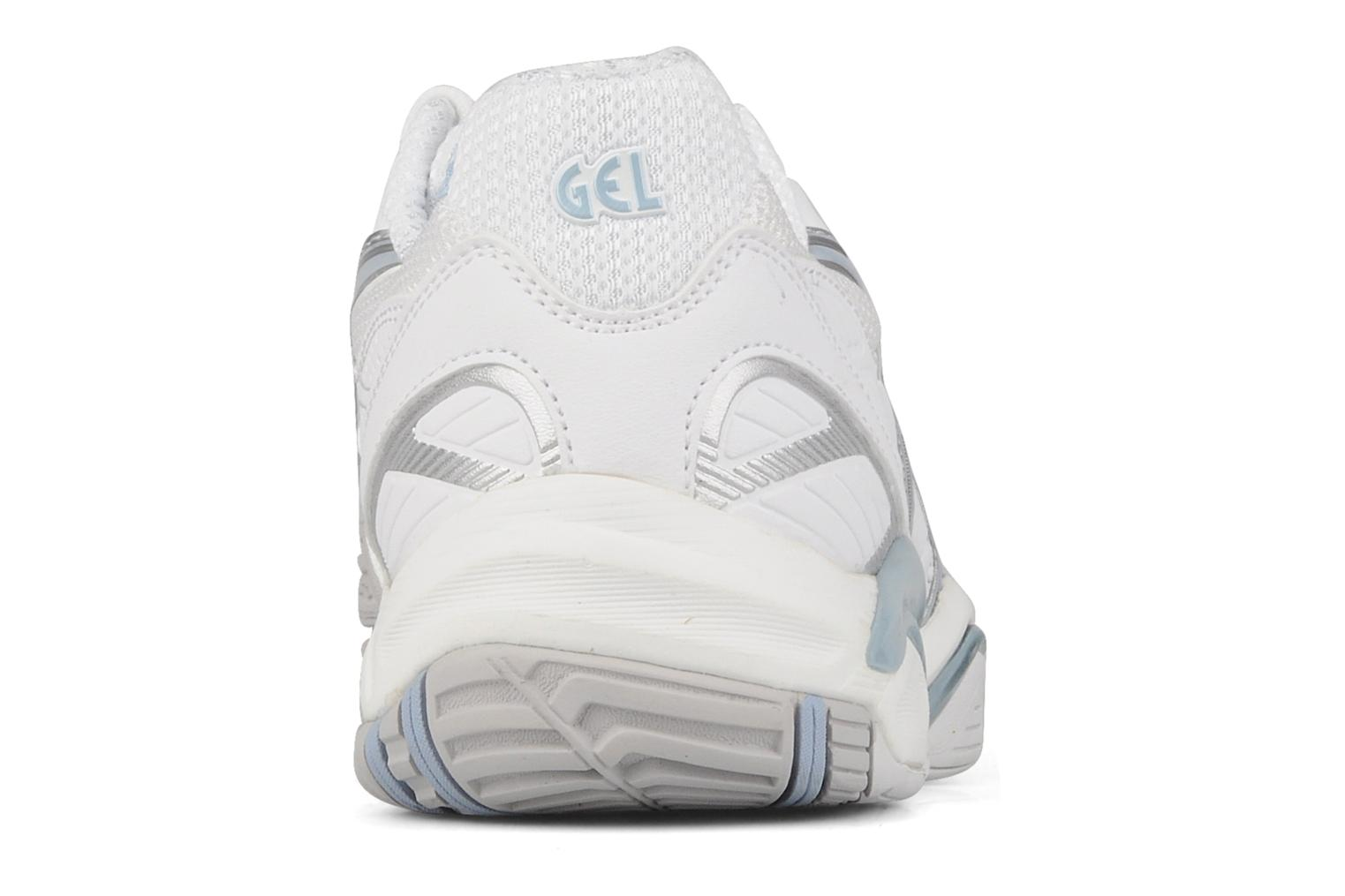 Sport shoes Asics Lady gel challenger 8 White view from the right