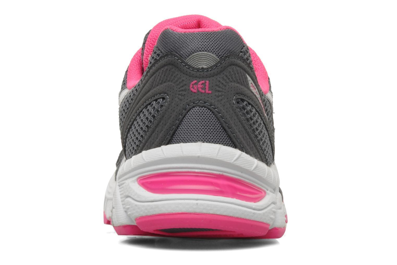 Chaussures de sport Asics Lady gel virage 6 Gris vue droite