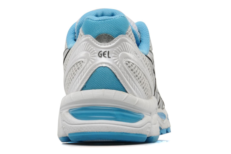 Chaussures de sport Asics Lady gel virage 6 Blanc vue droite